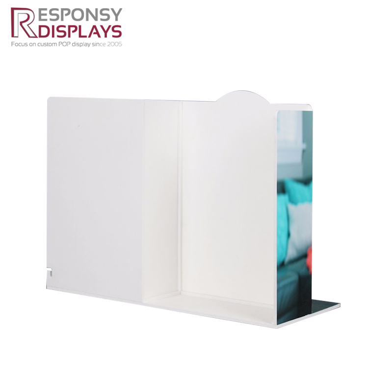Wholesales Fashionable White PVC Night Light And Lamp Display Rack