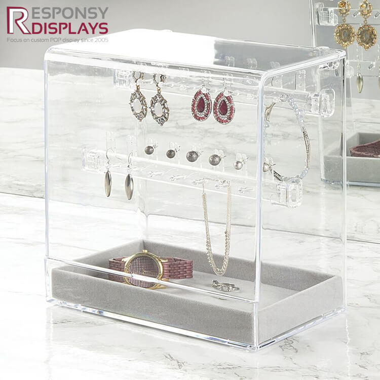 Customized Shaped Acrylic Earring Display Stand
