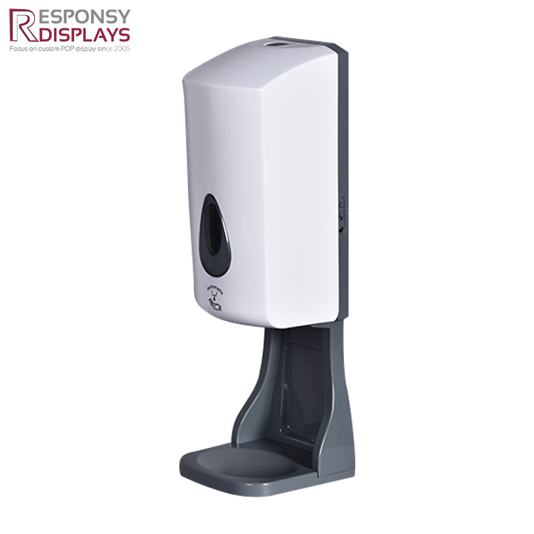 Fashion Design Multi-functional Hand Sanitizer Dispenser And Stand For Public