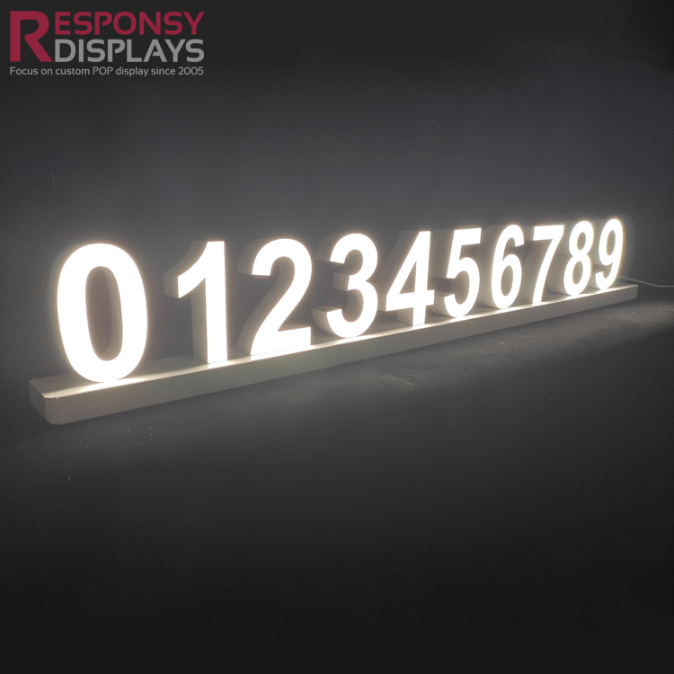 Hot Sale Outdoor 3D Signage Illuminated Signage CE LED Letter