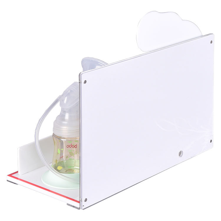 Counter Acrylic Breast Pump Rack Baby Products Display Rack